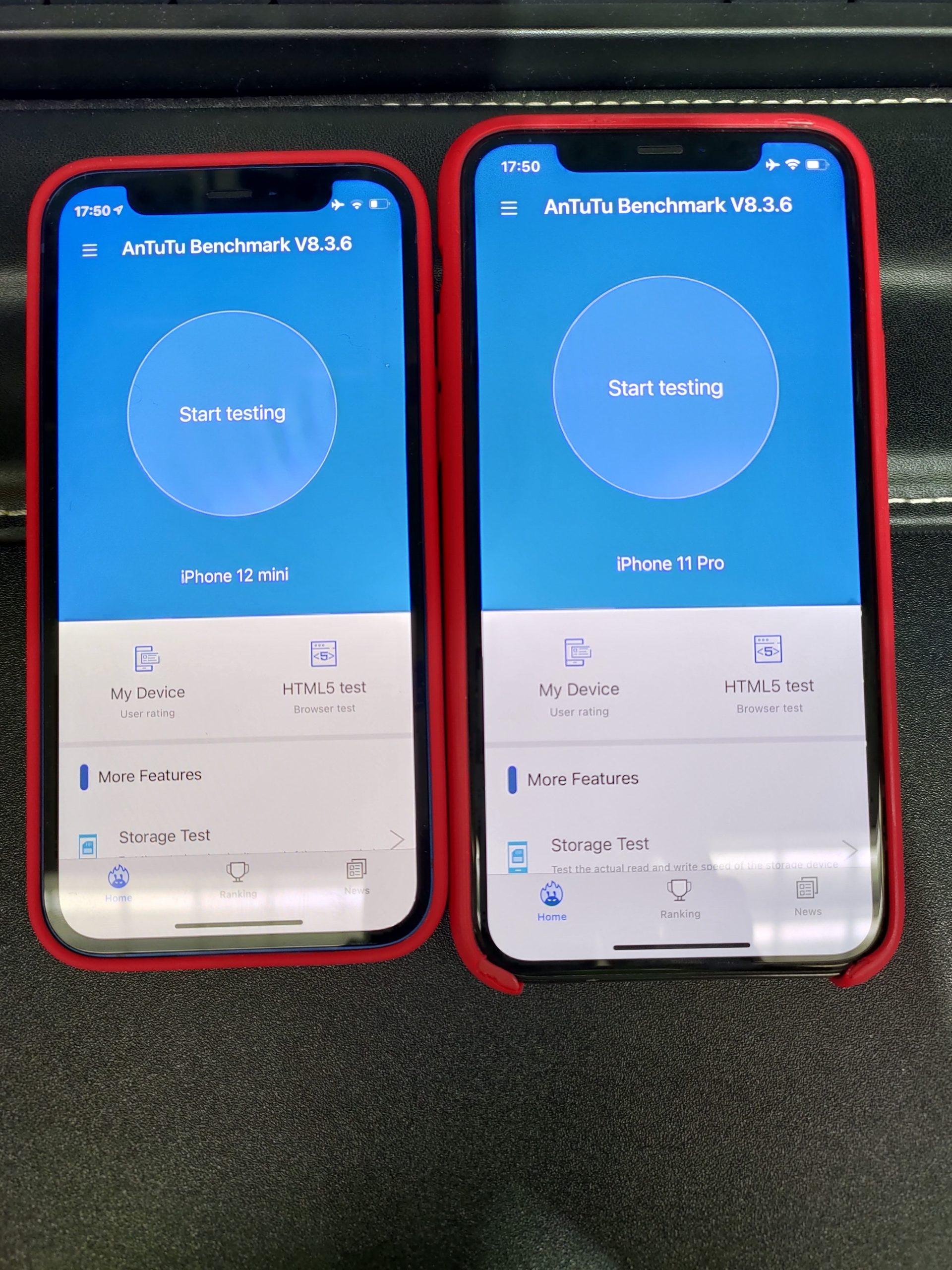 iPhone12mini VS iPhone11PRO対決